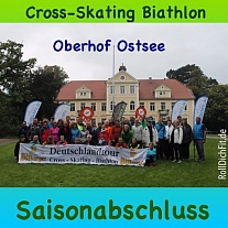 8. Deutschlandtour Cross-Skating-Biathlon 2017